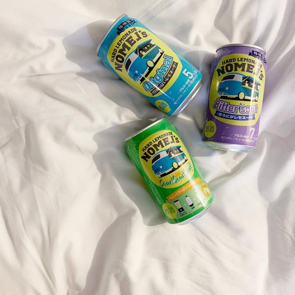 しゅわしゅわレモンのかわいいお酒。ジュースみたいな「ノメルズ」で、自分をゆるりとほどいてみない?