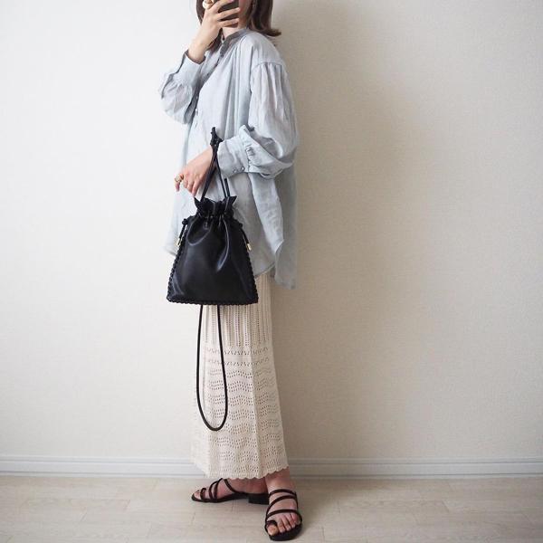 アンダー1500円で高見えが叶う大正解バッグ。しまむら「カガリキンチャク」は見つけたら即買いして!