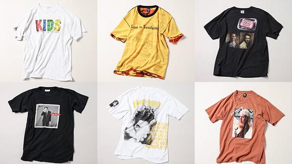 """ノマドな古着屋「weber」による""""大Tシャツ展""""が開催。映画Tシャツを中心に1000枚近くがラインナップ"""