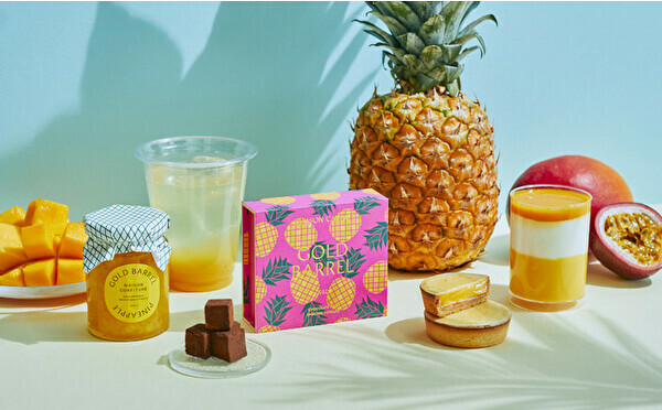 MAISON CACAO「旅するメゾン」第10弾は夏にぴったりのトロピカル!沖縄の希少なパイナップルが主役です