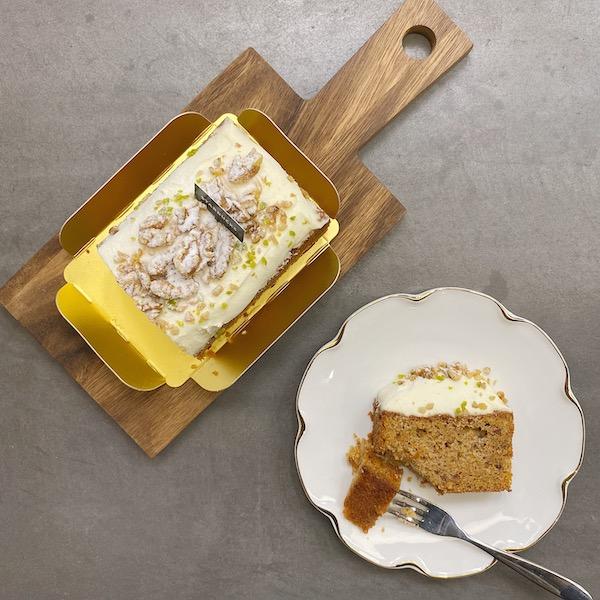 「スタバ」オンラインから初のフードメニューが登場!絶品キャロットケーキがおうちで食べられちゃいます