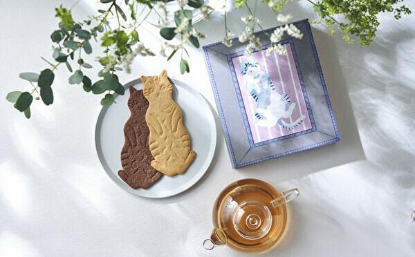 大判クッキー×リユースボックスがセット。フェアリーケーキフェアの新作はネコ好きさんにプレゼントしたい