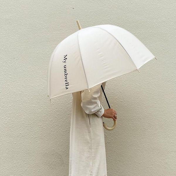 憂鬱な梅雨も、かわいい傘があればへっちゃら。さりげないロゴがかわいい「LAVEANGE」の傘をゲットして