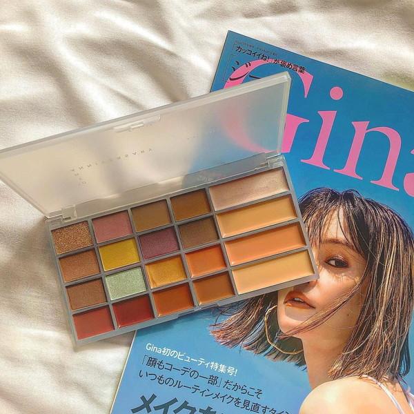 【雑誌付録】最新号のGinaは見つけたら即買い決定!Ungridの「20色パレット」が優秀すぎると話題なんです