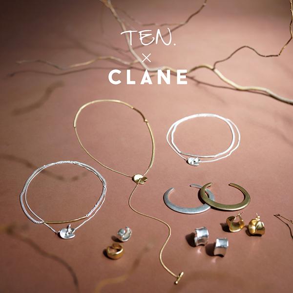 ファッションブランド「CLANE」とアクセサリーブランド「TEN.」がコラボ。伊勢丹新宿店でPOP UPが開催