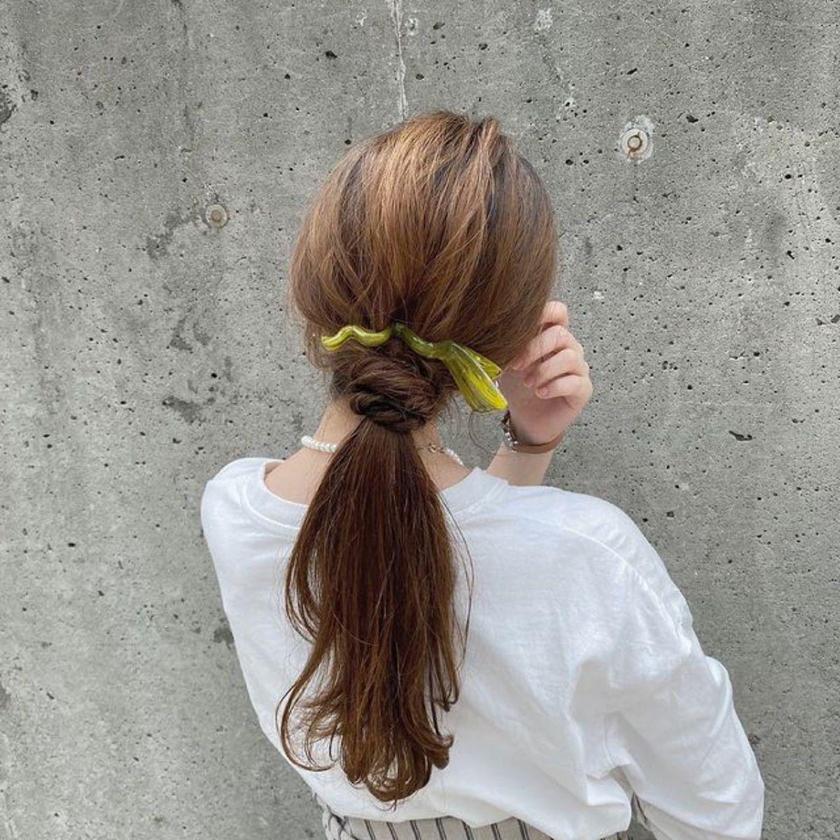 """この""""うねうね""""具合がたまらなくかわいい…。売り切れ続出中の「C-Waveクリップ」で髪にニュアンスを"""