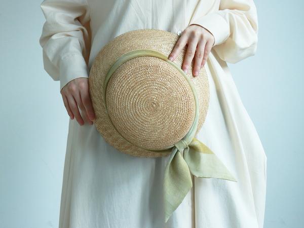 世界でひとつ、私だけのリボンってなんだか特別。残布・ハギレから作る「marumasu」の麦わら帽子って?
