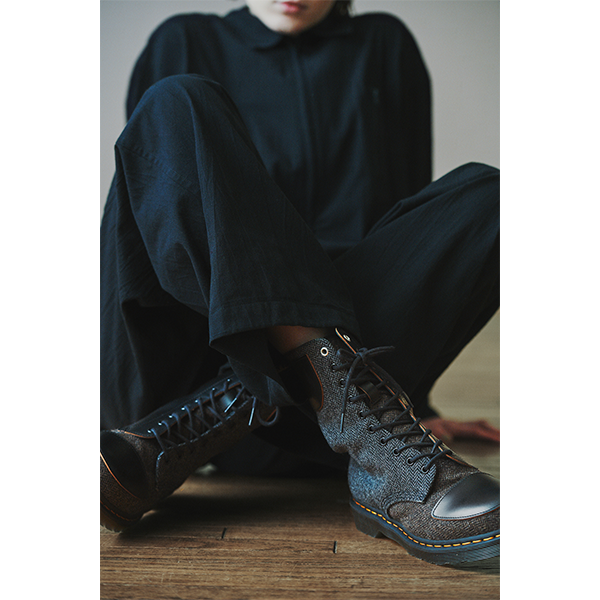 まだ夏だけど…ひとめぼれブーツに出くわしたかも。Y's×Dr.Martensの最新コラボブーツがおしゃれすぎ