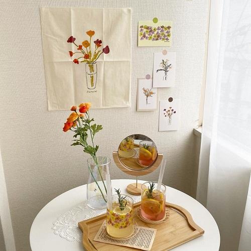 """韓国で話題の「HWAWON」と""""Lattice""""のコラボは豪華すぎる。色とりどりのお花にキュンが止まりません"""