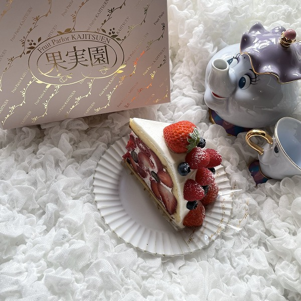 マリトッツォの次は「ズコットケーキ」がブームな予感。フルーツを着飾っている姿にゾッコンです