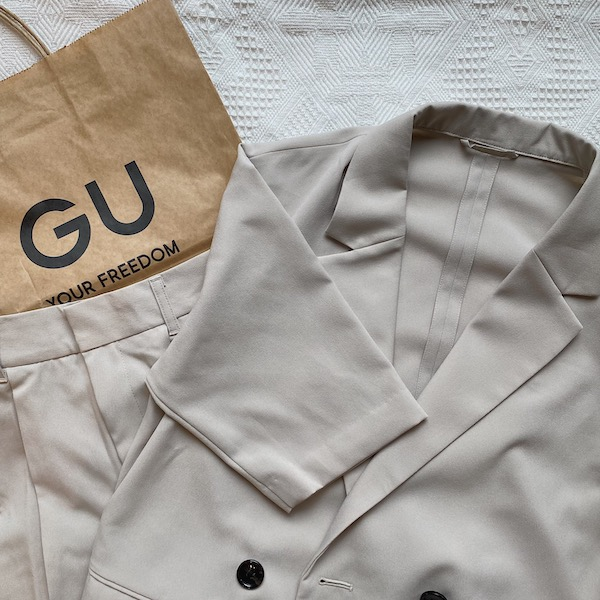 【GUレポ】羽織るだけで垢抜ける!この夏の大本命「ハーフスリーブジャケット」がプチプラでゲットできちゃう