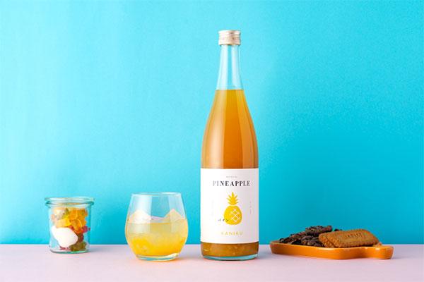 ゴロっと果肉感が堪りません!フレッシュ×濃厚な果実酒「KANIKU」が、とっても贅沢なお味みたいなんです