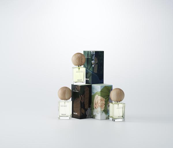 おうち時間も香りを身にまとって、森林浴気分に。「BAUM」から新作オーデコロン2香調がお目見え
