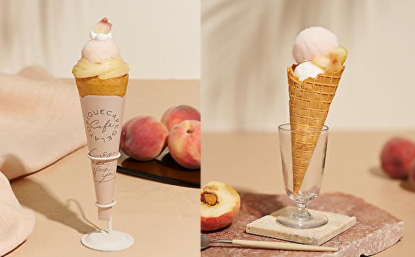 """暑い日は旬の桃のやさしい甘さ×香りに癒されたい。ジェラート ピケ カフェで夏の""""ピーチフェア""""が始まります"""