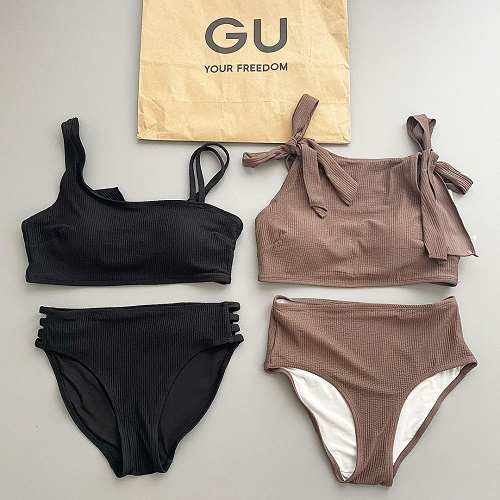 ついにGUから「スイムウェア」が登場!お値段以上すぎるハイクオリティな水着は、売り切れ前にGETしたいっ