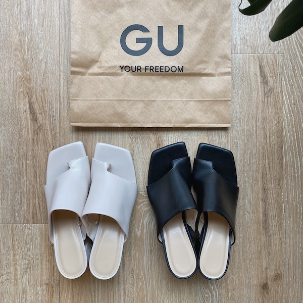 【GUレポ】6cmヒールなのに楽ちん!フカフカで歩きやすい新作「ソフトミュール」はこの夏絶対GETしたい