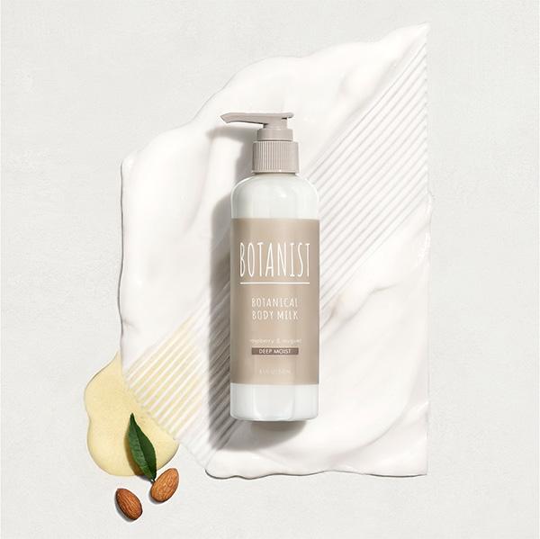 深い潤いを表現した香りが贅沢。BOTANISTのボディーミルクから新タイプ「ディープモイスト」が登場です