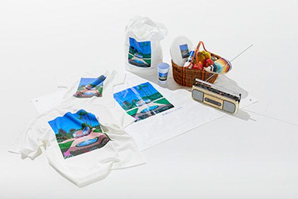 """coen×人気イラストレーター永井博氏がコラボ。トロピカルな""""風景イラスト""""のアイテムが発売です"""