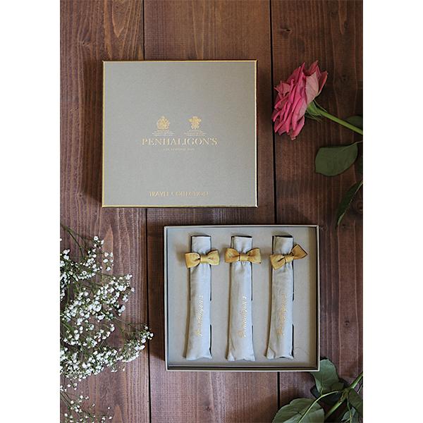 香りのお守りに包まれたい。英国生まれのペンハリガンから人気の香りを持ち運べるミニサイズセットが登場