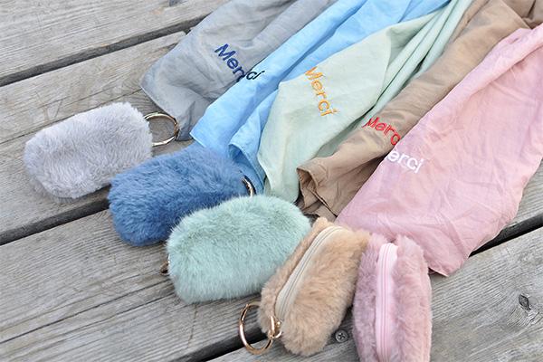ふわふわ×ニュアンスカラーにきゅん。「SOLEIL COPAIN」の秋冬限定エコバッグがかわい過ぎます