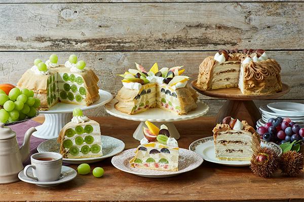 """Afternoon Tea LOVE&TABLEに秋限定ミルクレープが登場!""""旬""""のフルーツを使った新フレーバーは必食です"""