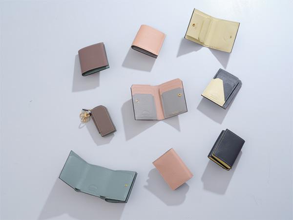 ツートーンカラーが上品で素敵。「ラルコバレーノ」のコンパクト×機能的なミニウォレットに新色が登場です