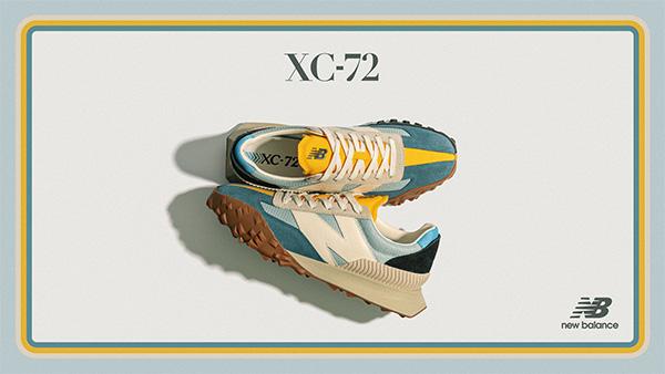 ブルー×イエローって、コーデの差し色にぴったりでは?ニューバランス秋の最新モデル「XC-72」に新色が登場