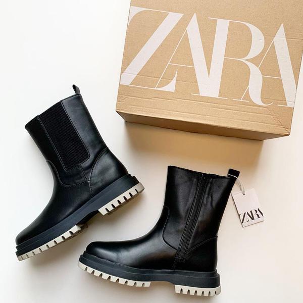 """【ZARA】もうこれしか履けないかも。軽くて疲れにくい""""サイドゴアブーツ""""で、秋冬コーデをおしゃれ&快適に"""