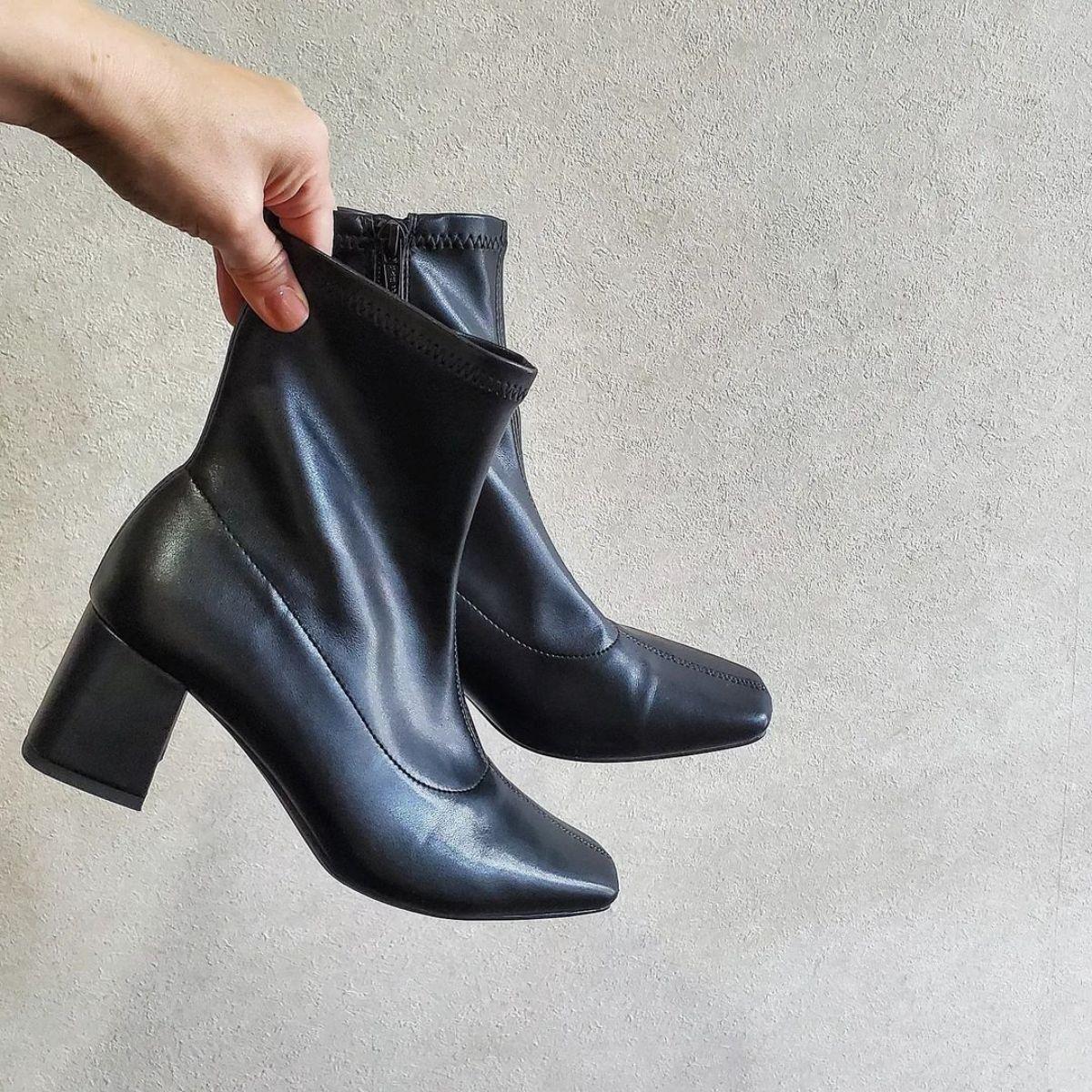 【GU】「ヒールのあるブーツって疲れる…」の悩みを覆す。足にぴったりフィットするこれなら歩きやすいんです