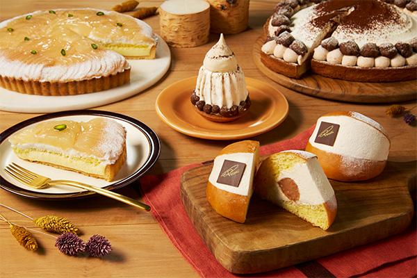 """マロンを贅沢に使ったマリトッツォにケーキ。イタリアンベーカリー・プリンチに""""秋""""を感じるフレーバーが新登場"""