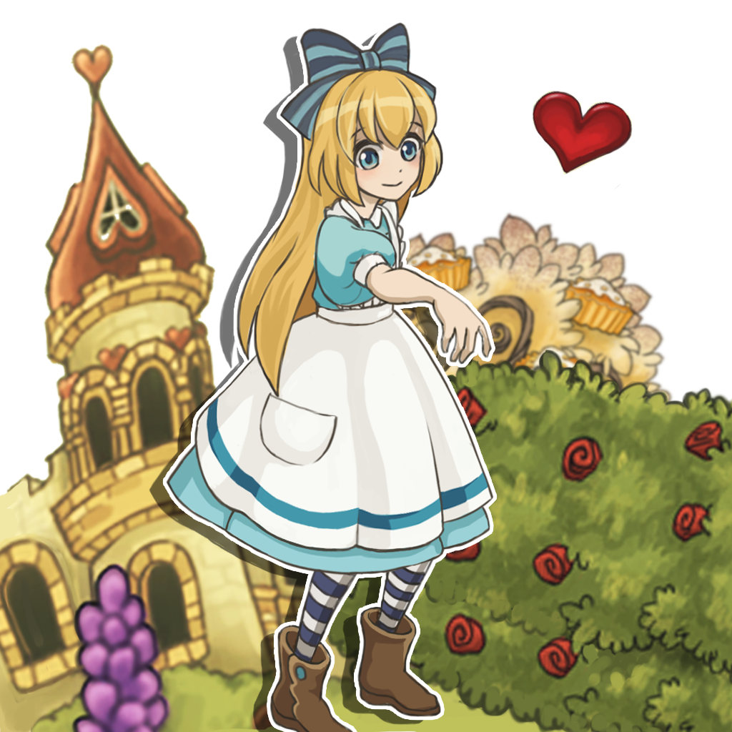 新アリスの不思議なティーパーティー