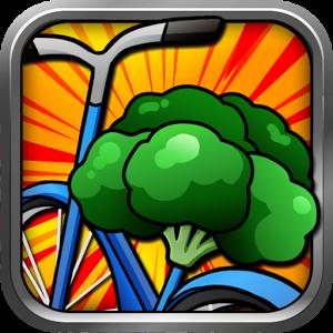 自転車ブロッコリー