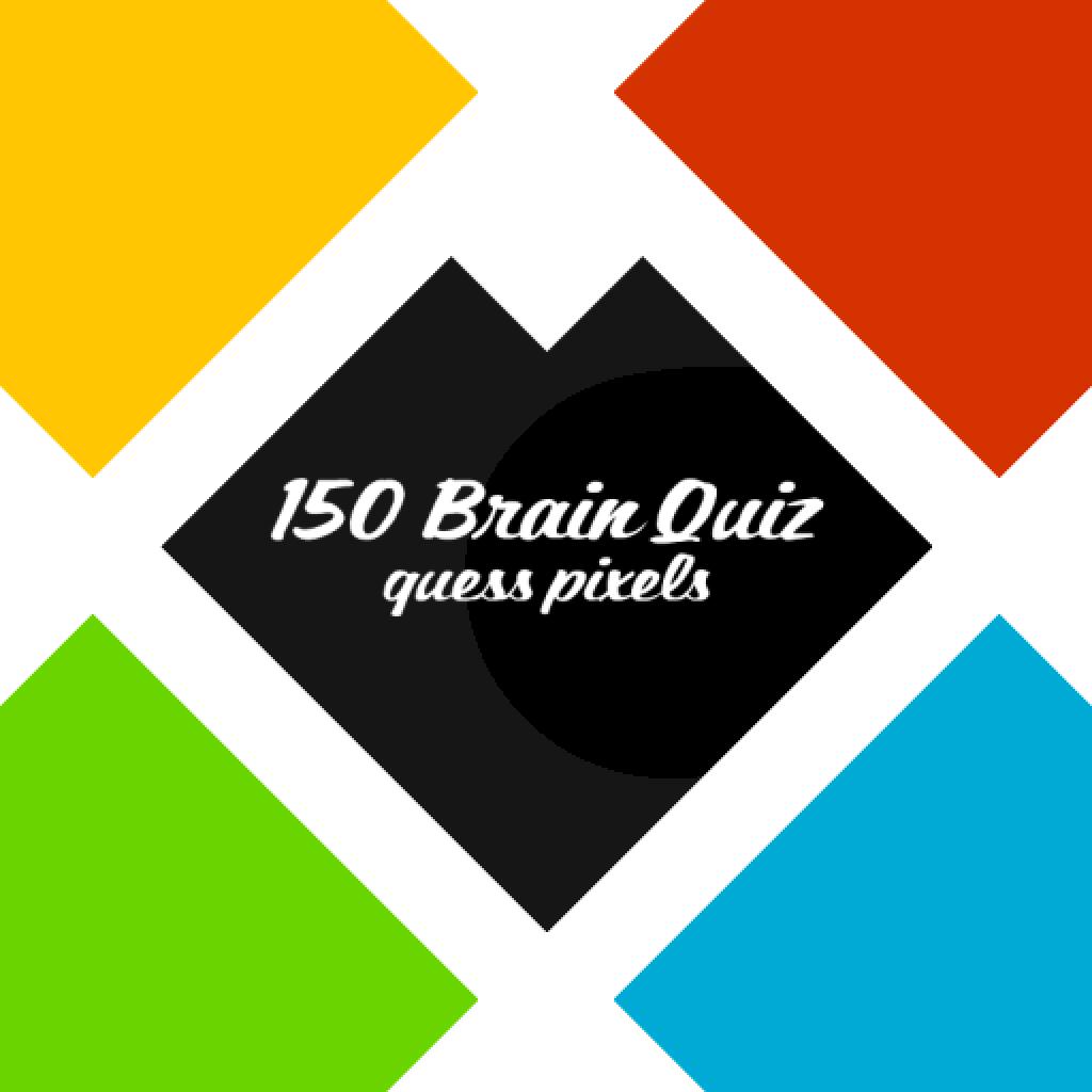 150 Brain Quiz: Guess Pixels