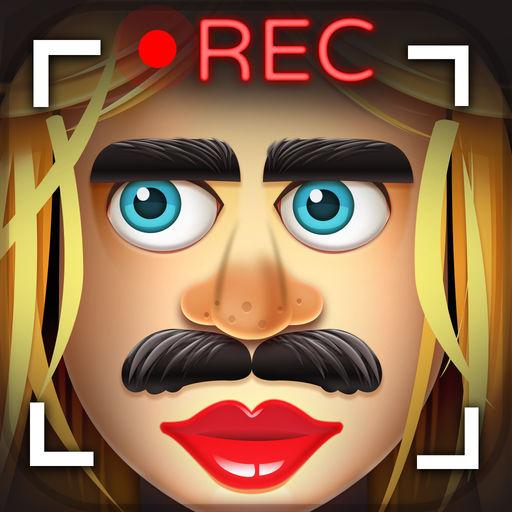 リアルタイム顔チェンジャー: リアルタイム映像で顔を入れ替え