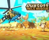ブロックジオラマみたいな世界が可愛い♪ヘリコプターを使った救出アクション『Dustoff Heli Rescue 2』