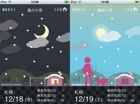 青空スライダー 〜目で見て楽しむ週間天気予報〜