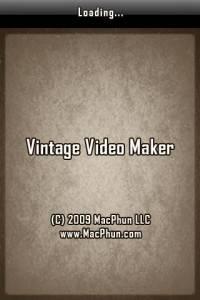 Vintage Video Maker