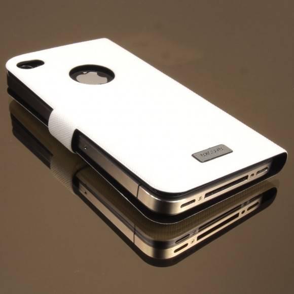 iPhone4 / 4S用 ケースexcuveウルトラスリムケースULTRA SLIM BOOKLET CASE