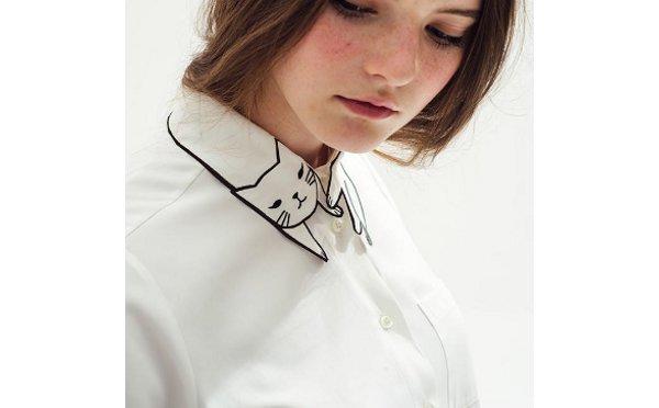 Kitty Collar Blouse