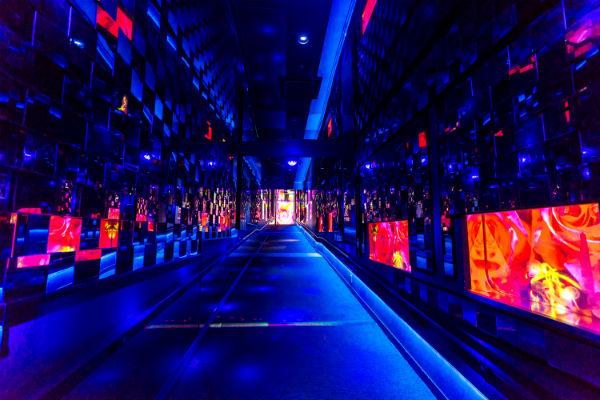 クラゲ万華鏡トンネル2