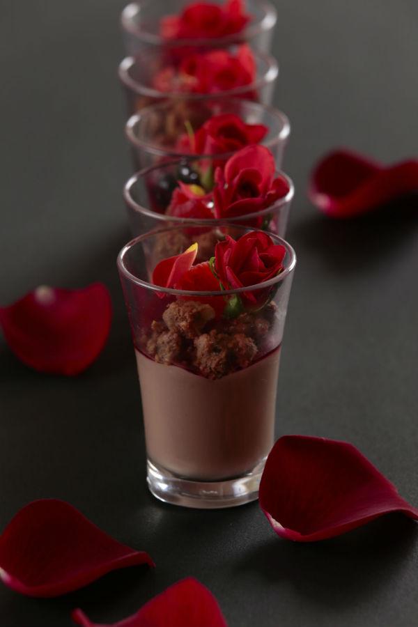 2月チョコレートムース
