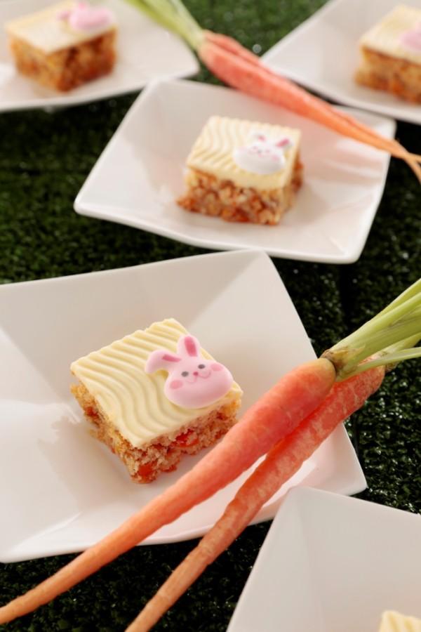 キャロット畑のキャロットケーキ